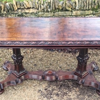 Antique Gothic Writing Table
