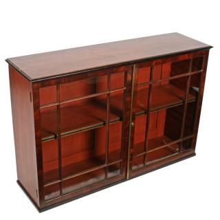 Regency Mahogany Two Door Cabinet
