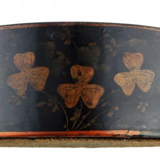 Pair of Regency Papier-mâché Coasters