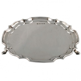 Sterling Silver Salver by Douglas Heeley