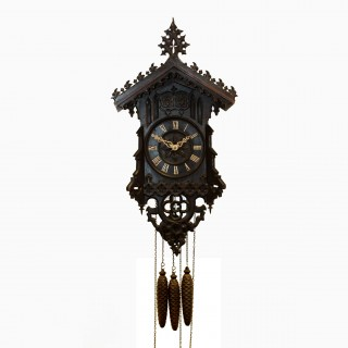 Beha quarter striking Cuckoo and Quail Clock