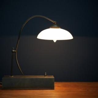 Opaline Office Lamp