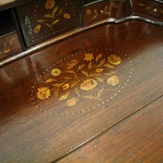 Dutch Marquetry Ladies Writing Desk/Bureau