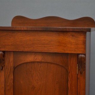 William IV Rosewood Side Cabinet