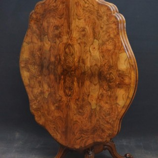 Magnificent Victorian Centre Table in Walnut