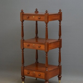 Fine William IV Mahogany Whatnot