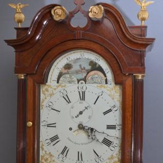 Fine Georgian Longcase Clock J. Joyce,Whitchurch