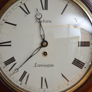 Fine Early Victorian Wall Clock, Hordern Leamington