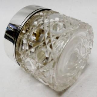 Art Deco Silver Lidded Jar by Asprey