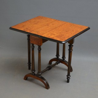 Small Victorian Sutherland Table