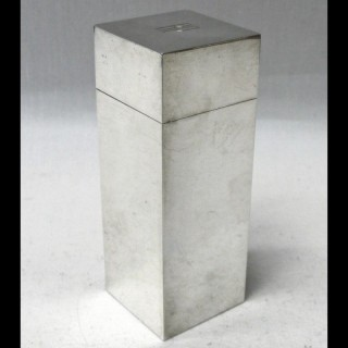 Art Deco Silver Box by Asprey