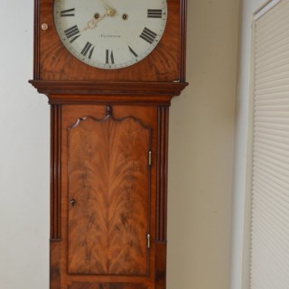 Fine and Unusual George III Wall Clock by A. Merga