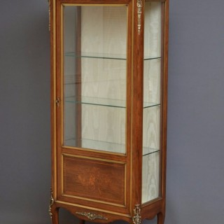 Continental Vitrine – Rosewood Display Cabinet