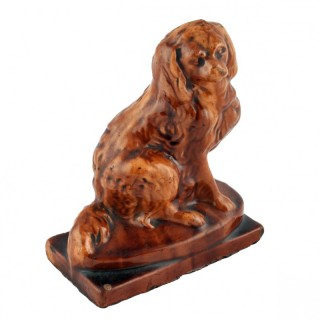 Victorian Treacle Glaze Dog