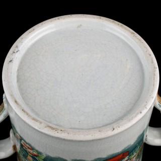 Staffordshire Two Handled Quart Tankard