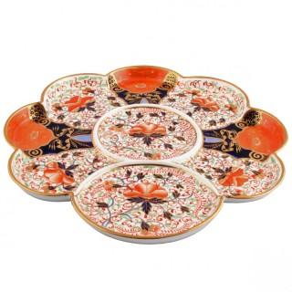 Victorian Davenport Porcelain Tray