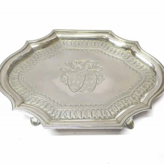 George III Silver Teapot Stand