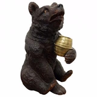 Black Forest Bear Tobacco Jar