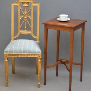 Wonderful French Gilt Chair – Side Chair