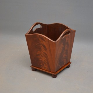 Rare Edwardian Waste Paper Bin – Plant Stand