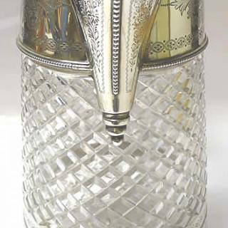Victorian Silver Lemonade Jug