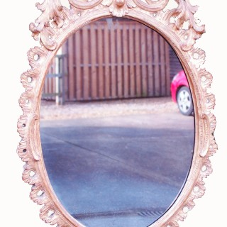 Antique 18th Century Gilt Wood Mirror