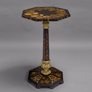Coromandal Marquetry Occasional Table
