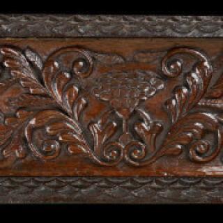 Oak Table Box