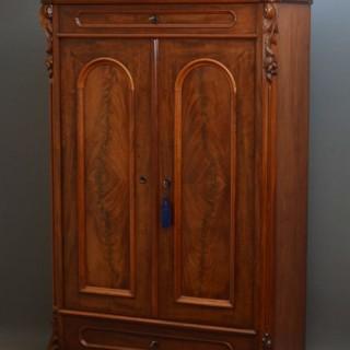 Biedermeier Cabinet – Mahogany Cupboard