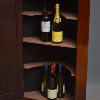 Georgian Drinks Cabinet – Corner Cupboard