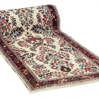 31 FOOT LONG PERSIAN WOVEN RUNNER CARPET