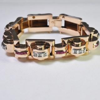 Gold Tank Bracelet