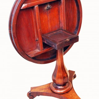 Antique 19th Century Rosewood & Marquetry Centre Table