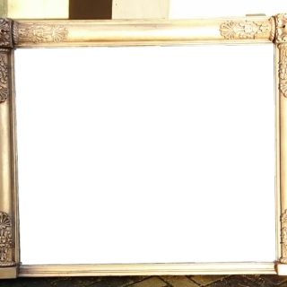 George IV Period Overmantle Mirror