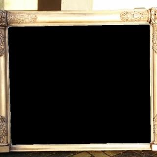George IV Period Overmantle Mirror