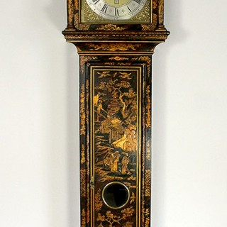 Laquered Early 18th Longcase clock by Thomas Cartwright