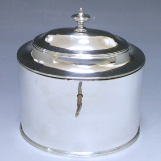 Hallmark Silver Tea Caddy