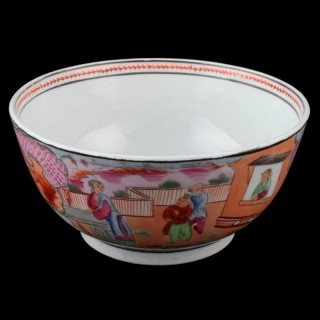 New Hall Porcelain Bowl