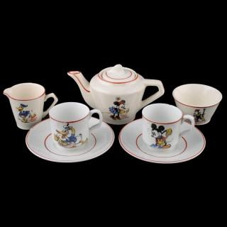 Disney Mickey Mouse Tea Set