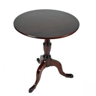 George III Tip Top Tripod Table