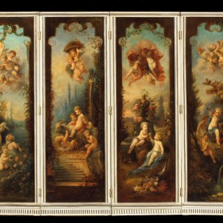 A Decorative 18th Century Screen
