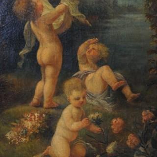 A Decorative 18th Century Screen