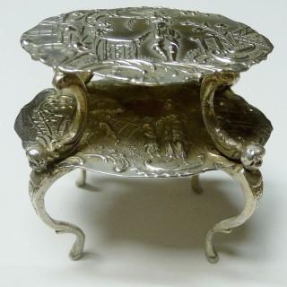 Miniature Silver Etagere