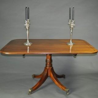 Regency Mahogany Breakfast Table