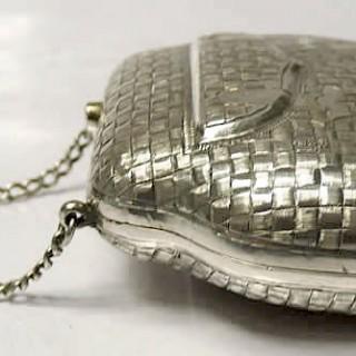 Antique Russian Silver Purse