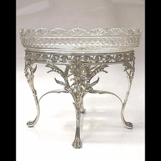 Victorian Silver Epergne by Elkington