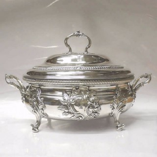 George III Silver Tureen and Cover