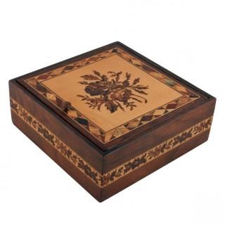 Rosewood Tunbridge Ware Box