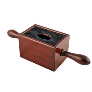 Victorian Mahogany Offertory Box