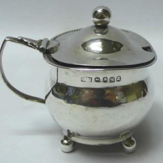 Georgian Silver Mustard Pot